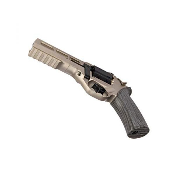 Lancer Tactical Air Pistol 4 Lancer Tactical Limited Edition Airgun Chiappa Rhino 50Ds CO2 Revolver Silver .177 Caliber