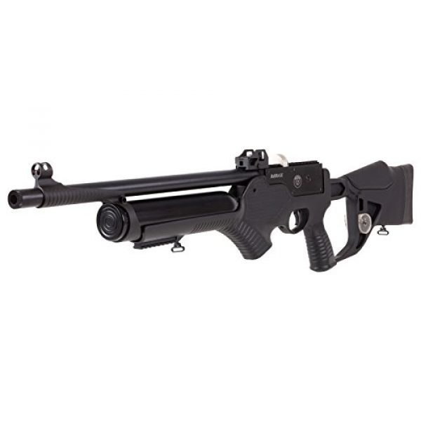 Wearable4U Air Rifle 5 Hatsan Barrage Semi Auto PCP Air Rifle with Included Wearable4U 100x Paper Targets and Lead Pellets Bundle