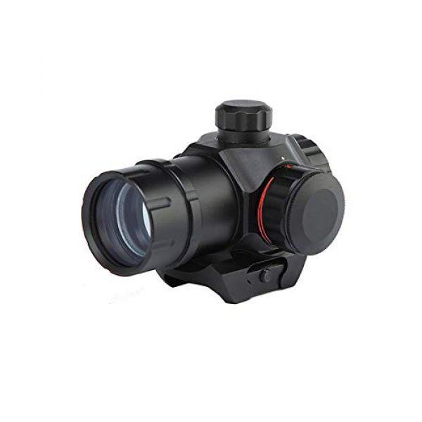 DJym Rifle Scope 1 DJym 1X22 Red Dot Sight, HD22D Common Sight 22mm Waterproof Vibration Antifogging