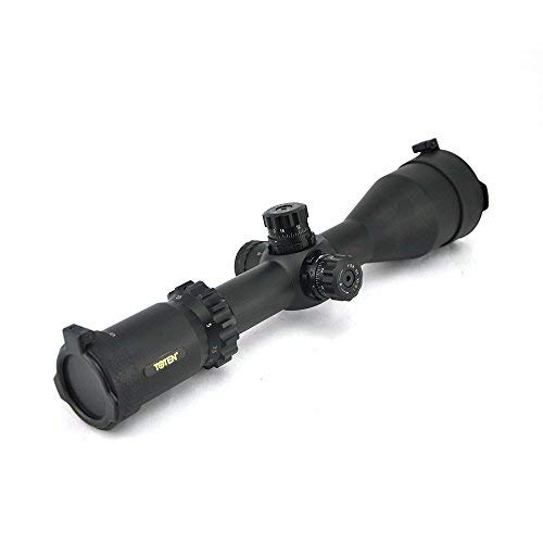 TOTEN Rifle Scope 1 TOTEN Rifle Scope 2.5-15x50 QZ First Focal Plane Gun Scope Hunting Scope for Viewing
