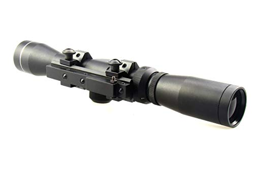 TACFUN Rifle Scope 5 TACFUN AIM Sports Mosin Nagant 2-7x32 Long Eye Relief Scope + M44 M91 30 Scout Mount Package