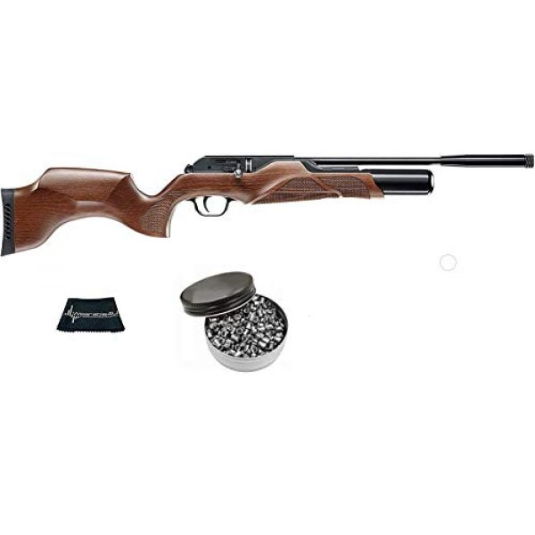 Walther Air Rifle 1 Walther Rotek .177 Caliber Air Rifle with Included Pack of 500 Pellets Bundle (Pellets Caliber/Weight .177/7.48 Grains) and Wearable4U Cloth