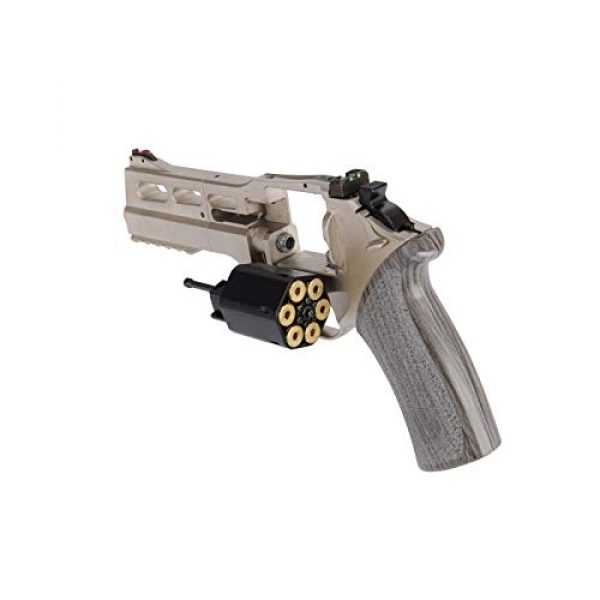 Lancer Tactical Airsoft Pistol 5 Lancer Tactical Limited Edition Airsoft Pistol Chiappa Rhino 50DS CO2 Revolver Silver 328 FPS