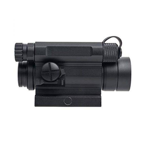 Fashion Sport Rifle Scope 6 Fashion Sport Tactical M4 1x32 Sight red/Green dot Sight Scope 2 MOA for Rifle air Guns Shooting Hunting with Raise Mount Base