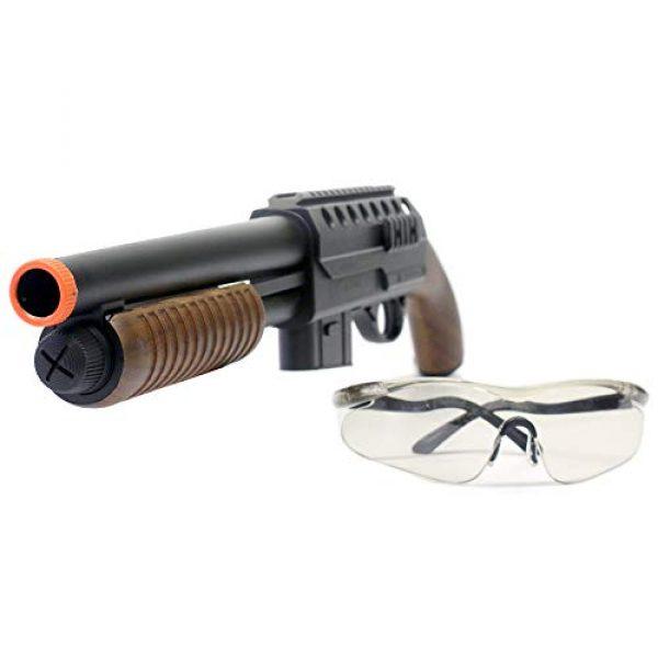 BBTac Airsoft Shotgun 4 BBTac BT-M47 Sawed-Off Style Spring Shotgun, Black