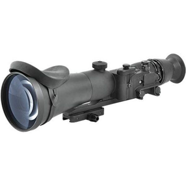 """PRG Defense Rifle Scope 3 PRG Defense 15WOP623353011 Model Wolverine Pro 6 3NL1 Gen 3+""""Level 1"""" Night Vision Rifle Scope, 6X Magnification, 178mm Objective Lens, 5.7° FOV, 50m to Infinity Focus Range, 30mm Eye Relief"""