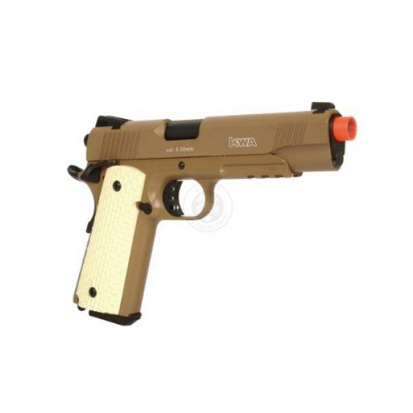 KWA Airsoft Pistol 3 KWA 1911 MK II PTP 6mm 21rd Dark Earth Airsoft Gun (101-00322)