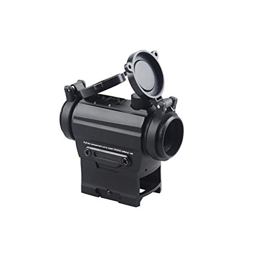 DJym Rifle Scope 2 DJym Red Dot Button Sight, Rifle Scope for Hunting Game Nitrogen-Filled Waterproof and Anti-Fog