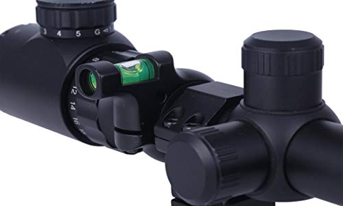 TACwolf Rifle Scope Scope Level 5 TACwolf Scope Sight Bubble Level for 1in / 30mm Tube to Precision Shooting Competition and Hunting
