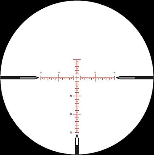 NightForce Rifle Scope 5 Nightforce Optics 3.5-15x50 NXS Riflescope, Matte Black Finish with Illuminated MOAR Reticle, Zero Stop Turrets, .250 MOA, 30mm Tube