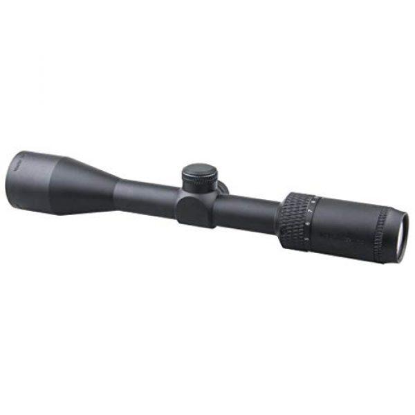 Vector Optics Rifle Scope 2 Vector Optics Matiz 3-9x40 Second Focal Plane (SFP) Tactical Riflescope, 25.4mm Tube, 1/4 MOA Per Click Adjustment, Edge-to-Edge Image, Free Mount Rings, Lens Caps