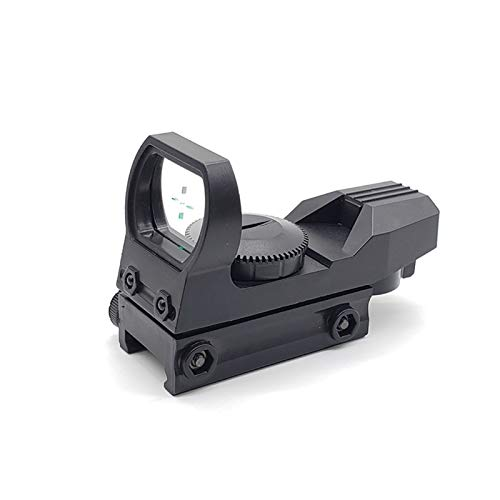 Without Rifle Sight 2 Toy Gun Sight Red dot Sight Magnification New Hunting Green Dot Sight Reflex Sight for Toy Gun Accessories Hunting Game Toy Track Scope Holographic Optical (Color : Black)