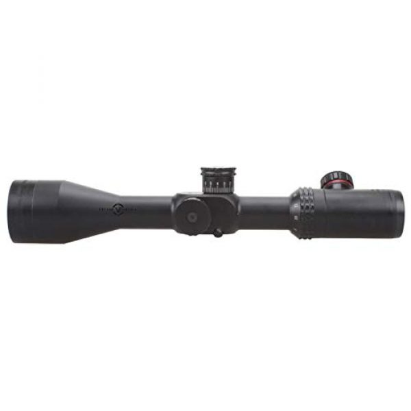 Vector Optics Rifle Scope 7 Vector Optics 4-16x50 Second Focal Plane (SFP) Riflescope with Red & Green Illuminated Reticle, 30mm Tube, 1/4 MOA Per Click Adjustment, Turret Lock System, Free Mount Rings, Honeycomb Sunshade