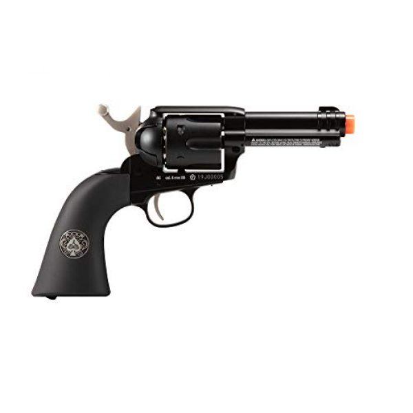 Wearable4U Airsoft Pistol 3 Wearable4U Umarex Limited Ed - Legends Gambler Custom Revolver Airsoft BB Airgun with 5X 12gr CO2 Tanks Pack of 1000 6mm EF BBS Bundle