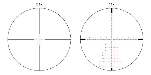 Athlon Optics Rifle Scope 3 Athlon Optics , Ares BTR , Riflescope , 2.5-15 x 50 First Focal Plane (FFP) 30mm Tube, Illuminated APLR3 MIL Reticle ,