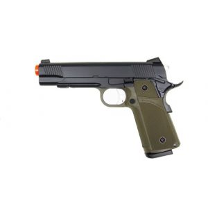 KJW Airsoft Pistol 1 KJW model-615g kp05-s gas/co2 blowback full metal/od green(Airsoft Gun)