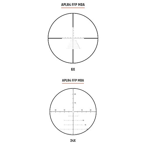 Athlon Rifle Scope 4 Athlon Optics Midas Tac Rifle Scope 6-24x50 MOA Reticle Bundle with a Lumintrail Cleaning Cloth