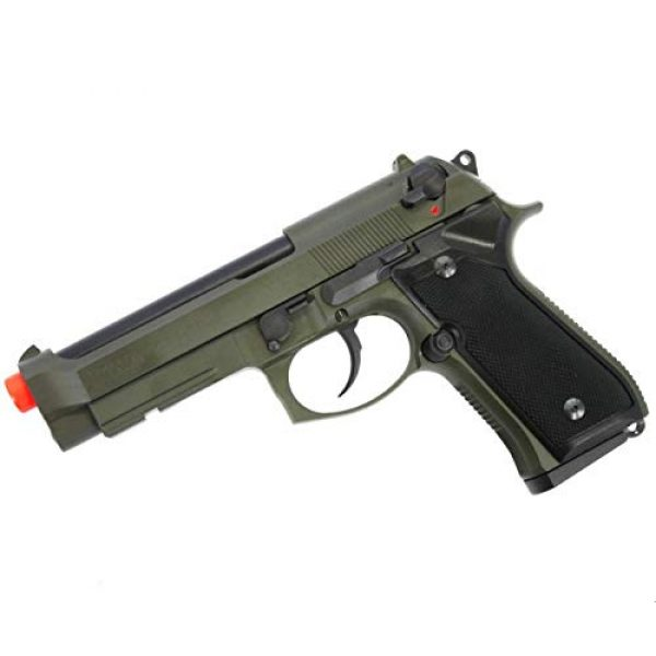 Soft Air Airsoft Pistol 5 Soft Air ANM Customs Cerakote KWA M9 Tactical PTP Gas Blowback Airsoft Pistol