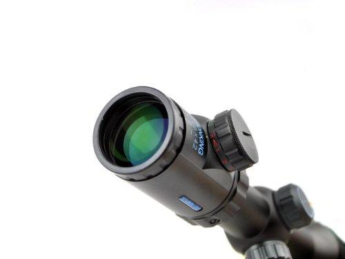 Visionking Rifle Scope 2 Visionking 1.5-6x42 Rifle Scope 30 mm Illuminated Red/Gree Riflescopes Sight Color Black