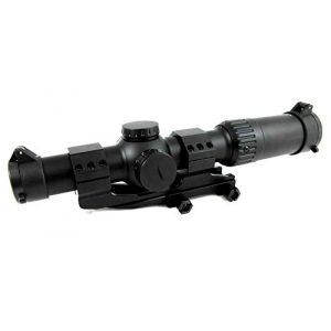 Sun Optics USA Rifle Scope 1 Sun Optics Mantis 30MM 1-6X24 Illuminated BDC Reticle w/ Mount
