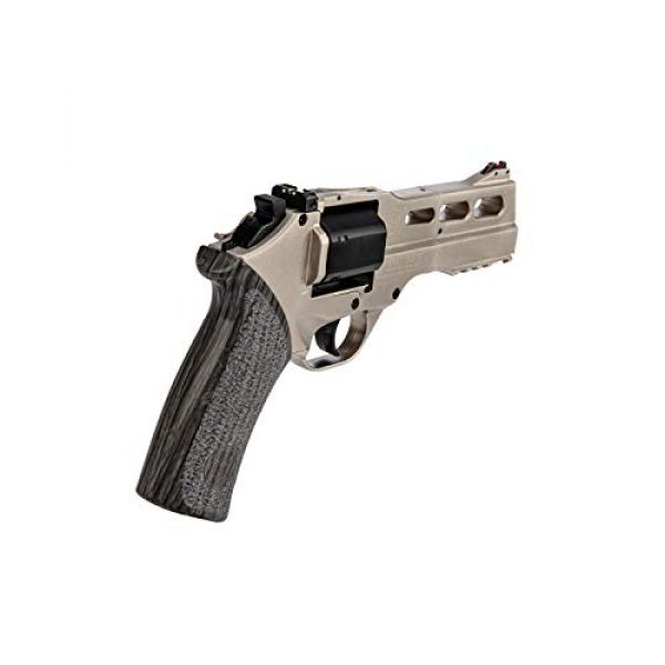 Lancer Tactical Air Pistol 3 Lancer Tactical Limited Edition Airgun Chiappa Rhino 50Ds CO2 Revolver Silver .177 Caliber