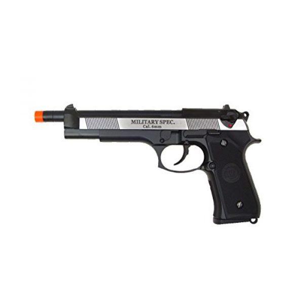 WE Airsoft Pistol 1 WE m92 long-a gas/co2 blowback full metal - black(Airsoft Gun)