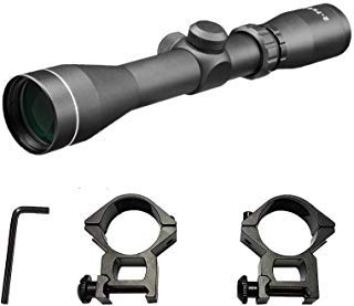 Persei Rifle Scope 1 Persei 2-7x42 Long Eye Relief Scope Mil-dot Reticle 30mm Tube Diameter Fits Mosin Nagant 1891/30 M39 with Mount Rings Tactical Rifle Scope