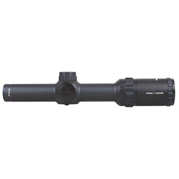 Vector Optics Rifle Scope 3 Vector Optics Arbiter 1-4x24mm 1/2 MOA Compact Tactical Riflescope with Red Dot Illuminated Reticle (Matte Black)