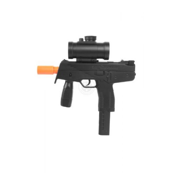 DE Airsoft Pistol 1 airsoft deltaforce tactical ksr full size smg with electronic red dot scope(Airsoft Gun)