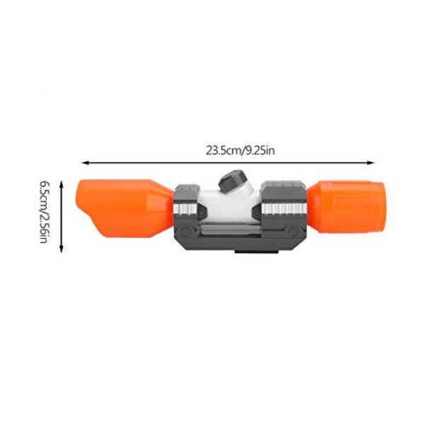 Yolispa Nerf Gun Scope 7 Yolispa Scope Sight Attachment with Reticle Accessory for Modify Toy Accessories