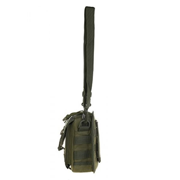 ABD Tactical Backpack 4 ABCAMO Nylon Waterproof Solid Color Outdoor One Shoulder Tactical Sport Bag