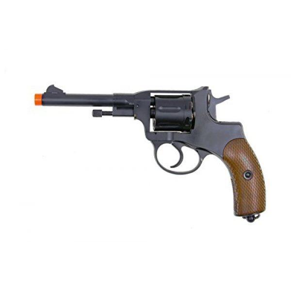 WG Airsoft Pistol 1 WG model-721 full metal nagant revolver co2 nbb included 4 revolver holster-nylon(Airsoft Gun)