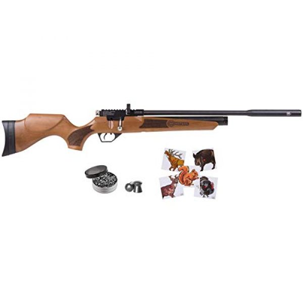 Wearable4U Air Rifle 1 Wearable4U Hatsan Hydra New .25 Cal Air Rifle with Included 100x Paper Targets and 150x .25cal Lead Pellets Bundle