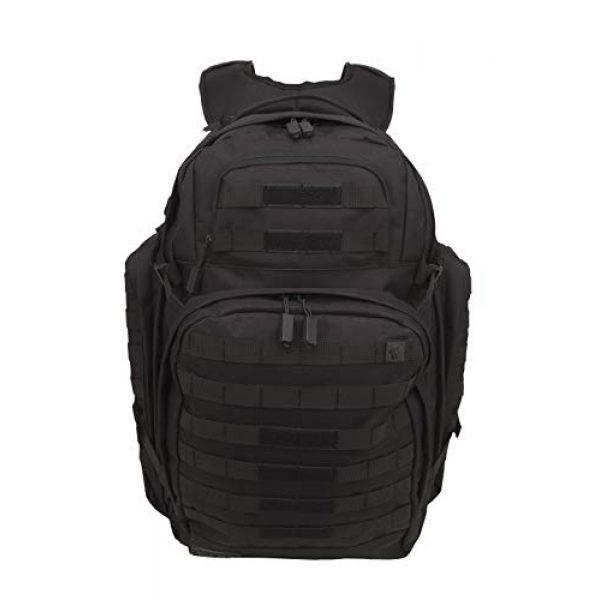 SOG Specialty Knives Tactical Backpack 2 SOG Barrage Tactical Internal Frame Backpack, 64.3-Liter Storage, Black