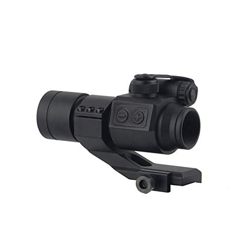 UELEGANS Rifle Scope 5 UELEGANS 1x30 Compact Tactical Hunting Red Dot Sight with cemented Red Film Lens