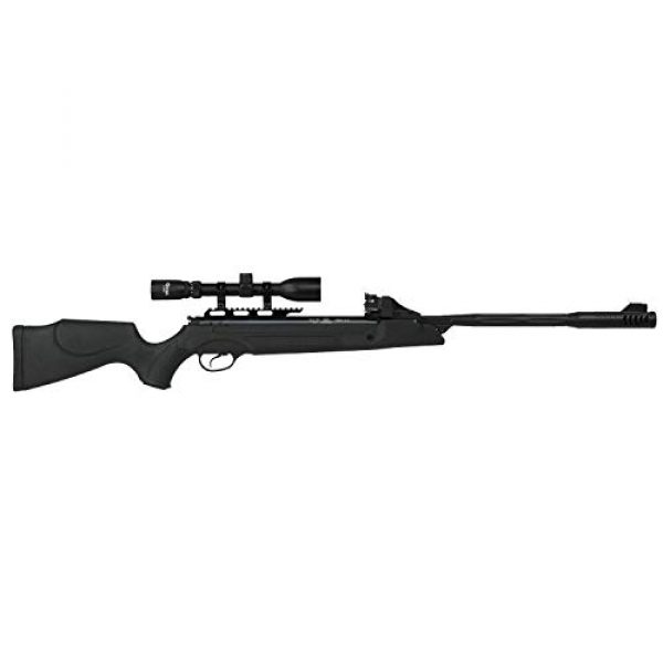 Wearable4U Air Rifle 5 Hatsan SpeedFire Air Rifle, Black with Included Wearable4U 100x Paper Targets and Lead Pellets Bundle