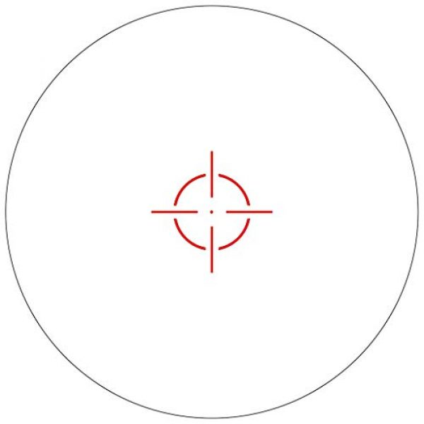 Vector Optics Rifle Scope 6 Vector Optics Calypos 1x30mm, Red Illuminated BDC Reticle, Second Focal Plane (SFP), 1/2 MOA Compact Tactical Prism Riflescope