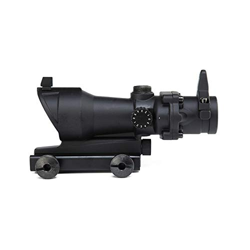 DJym Rifle Scope 4 DJym Wire Differentiation HD No Magnification Blue Film Sight, Inner Red Dot Sightproof