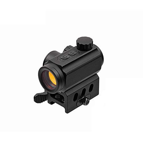 NANA Rifle Scope 1 Force Technologies Red Dot Sight RDS-21, 4 MOA, Matte Black, with QD-Mount for Weaver/Picatinny
