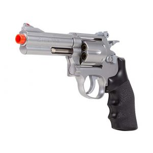 UHC Airsoft Pistol 1 TSD Sports UA933S 4 Inch Spring Powered Airsoft Revolver (Silver)