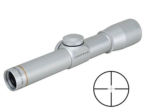 Leupold Rifle Scope 1 Leupold FX-II Handgun 2x20mm Duplex, Silver