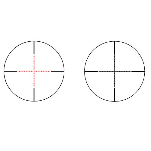 Sniper Rifle Scope 5 Sniper ST2.5-10x40 Rifle Scope Combo with Green Laser R/G Illuminated Reticle Red Dot Sight