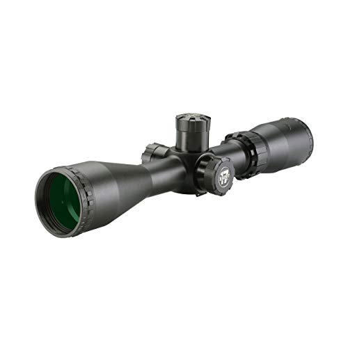 "BSA Optics Rifle Scope 2 Sweet 17 Riflescope, 3-12x40mm, Duplex, Matte, 1"" Tube, 10 yds to Infinity & Adjustable"