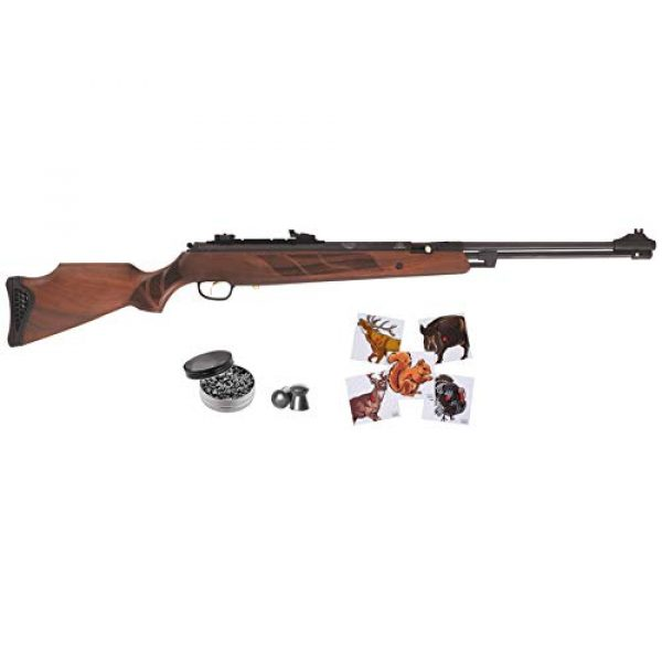Wearable4U Air Rifle 1 Hatsan Torpedo 155 Vortex Air Rifle with Included Wearable4U 100x Paper Targets and Pellets Bundle
