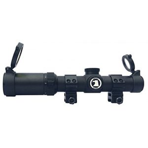 Osprey Global Rifle Scope 1 Osprey Tactical 1-4 Mildot Lit Reticle