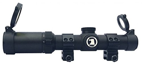 Osprey Global Rifle Scope 1 Osprey Tactical 1-4 Mildot Lit Reticle