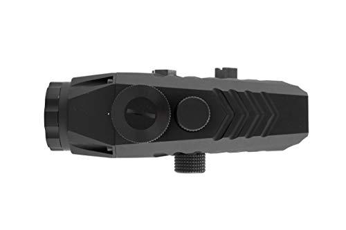Monstrum Rifle Scope 3 Monstrum P330 Marksman 3X Prism Scope | RM5-AH Adjustable Height Riser Mount with Quick Release | Bundle