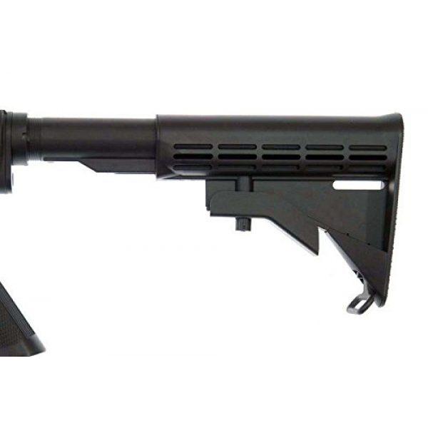 MetalTac Airsoft Rifle 7 MetalTac F6604 Carbine Electric AEG Full Metal Gearbox, Black