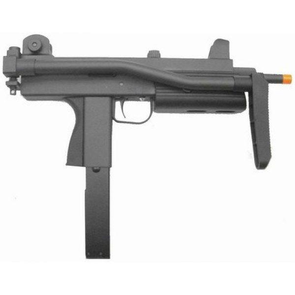 HFC Airsoft HFC SMG Rifle 2 HFC model-203zt77 gas blowback semi/full auto w/deluxe gun case(Airsoft Gun)
