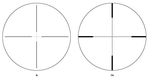 Trijicon Rifle Scope 5 Trijicon TARS104 3-15x50 Riflescope